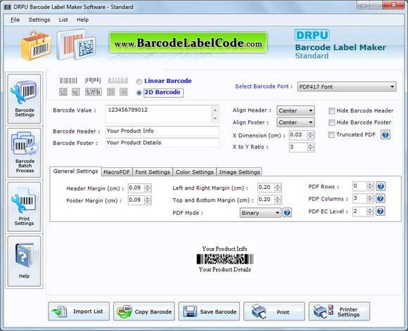 Windows 7 Barcode Label 7.3.0.1 full